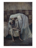 God is Near the Afflicted Giclee Print by James Tissot
