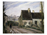Les Masures Pres D' Osny Giclee Print by Camille Pissarro