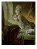 The Love Letter Giclee Print by Jean-Honor&#233; Fragonard