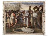 Joseph Sold into Slavery Reproduction procédé giclée par  Raphael