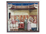 Wedding at Cana Giclee Print by Giotto di Bondone