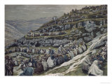 Miracle of the Loaves and Fishes Giclee Print by James Tissot