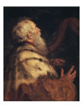 King David Giclee Print by Peter Paul Rubens
