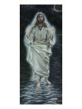 Jesus Walking on the Sea Giclee Print by James Tissot