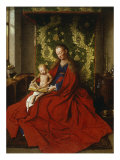Madonna and Child Premium Giclee Print by  Jan van Eyck