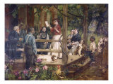 Tidings from the Front Giclee Print by Gilbert Gaul