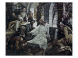 A Woman Anoints the Feet of Jesus Giclee Print by James Tissot