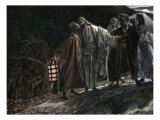 Judas Betraying Jesus with a Kiss Giclee Print by James Tissot