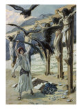 Rizpah's Kindness Toward the Dead Giclee Print by James Tissot
