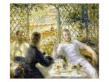 The Rowers' Lunch Giclee Print by Pierre-Auguste Renoir