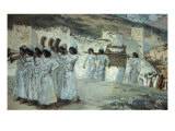 The Seven Trumpets of Jericho Giclee Print by James Tissot