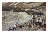 John the Baptist Sees Jesus from Afar Giclee Print by James Tissot