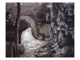 Adoration of the Shepherds Giclee Print by James Tissot