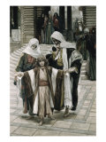 Jesus Found in the Temple Giclee Print by James Tissot