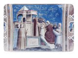 Presentation of Mary in the Temple Giclee Print by Giotto di Bondone