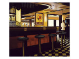 Buckhead Diner Giclee Print by Dale Kennington