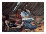 Jael Smote Sisera and Slew Him Giclee Print by James Tissot