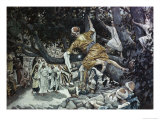 Zacchaeus in the Sycamore Tree Giclee Print by James Tissot