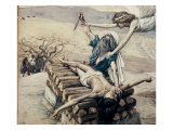 The Offering of Abraham Premium Giclee Print by James Tissot