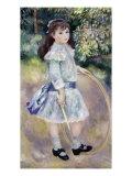 Girl with a Hoop, Marie Goujon Giclee Print by Pierre-Auguste Renoir