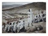 Jacob Sees Esau Coming to Meet Him Giclee Print by James Tissot
