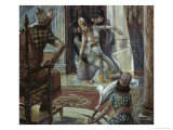Esther Before Ahasuerus Giclee Print by James Tissot