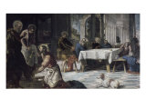 The Bathing Giclee Print by Jacopo Robusti Tintoretto