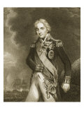 Etching of Viscount Horatio Nelson from Hop Orig Giclee Print by John Hoppner