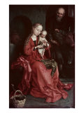 The Holy Family Giclee Print by Martin Schongauer