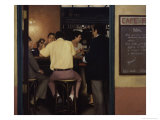 Paradise Cafe Giclee Print by Dale Kennington