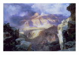 Miracle of Nature Giclee Print by Thomas Moran