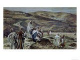Christ Sending Out the Seventy Disciples Giclee Print by James Tissot