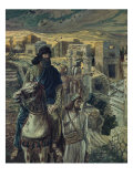 Nehemiah Looks on the Ruins of Jerusalem Giclee Print by James Tissot