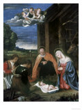 The Nativity Premium Giclee Print by  Titian (Tiziano Vecelli)