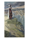 Moses Sees the Promised Land from Afar Giclee Print by James Tissot