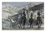 The Wise Men Journeying to Bethelhem Premium Giclee Print by James Tissot