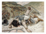 David Cuts off the Head of Goliath Giclee Print by James Tissot