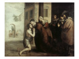 The Return of the Prodigal Son Giclee Print by Bartolome Esteban Murillo