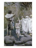 Baptism of Jesus Giclee Print by James Tissot