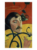 Self Portrait Giclee Print by Paul Gauguin