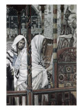 Jesus Teaching in the Synagogue Giclee Print by James Tissot