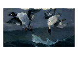 Right and Left Giclee Print by Winslow Homer