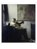 The Lute Player Giclee Print by Jan Vermeer