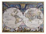 Nova et Accuratissima Totius Premium Giclee Print by Joan Blaeu