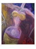 Swing Giclee Print by Gina Bernardini