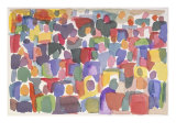 Crowd IV Giclee Print by Diana Ong