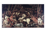 Battle of San Romano Gicleetryck av Paolo Uccello