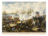 General Andrew Jackson at the Battle of New Orleans Giclee Print