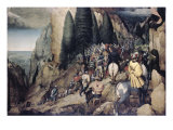 The Conversion of Saint Paul Giclee Print by Pieter Bruegel the Elder