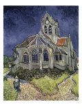 Church at Auvers, c.1916 Reproduction procédé giclée par Vincent van Gogh